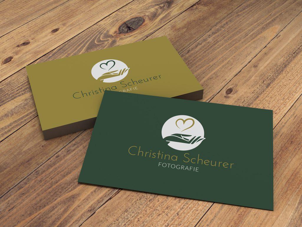 Logodesign Christina Scheurer